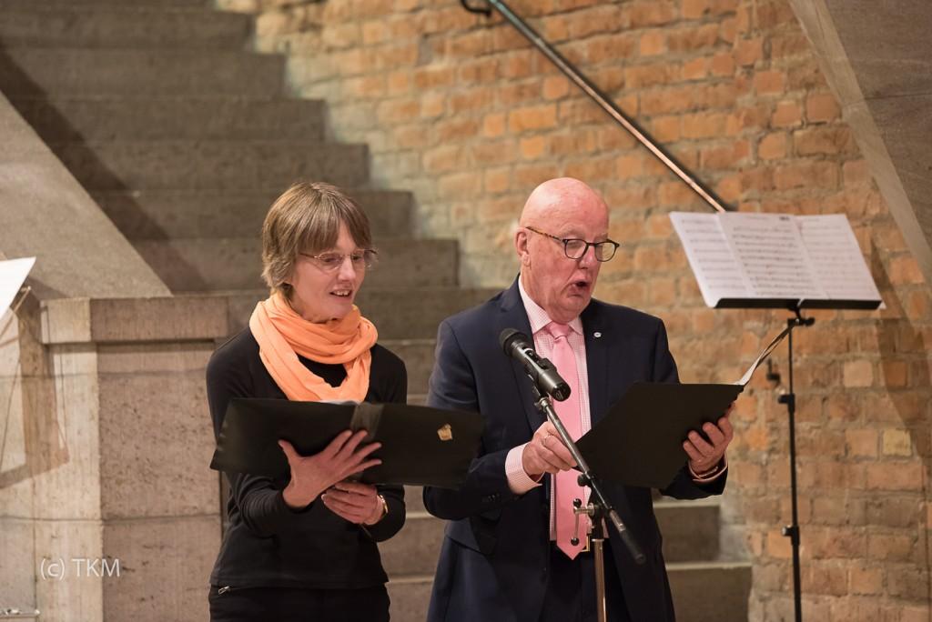 Rita Sieber und Tom Keeton im Duett